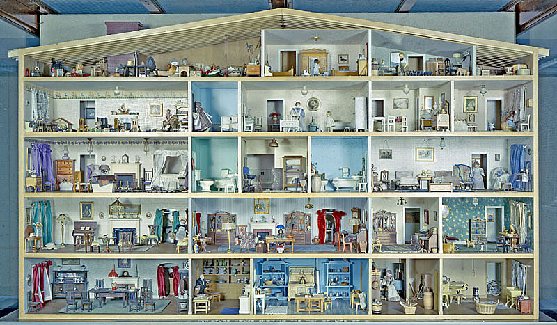 Dollhouse Exhibition And Toy: National Museum Of American