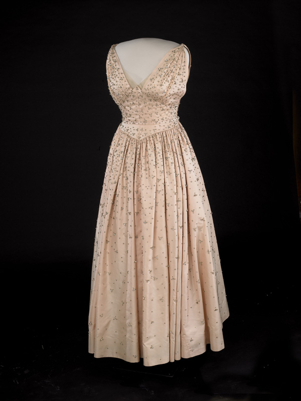 Mamie Eisenhower S Inaugural Gown 1953
