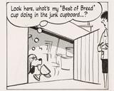 Alley Oop comic with cave men
