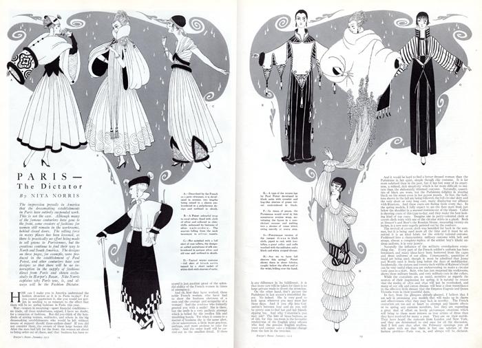 1915 Harpers Bazar Article