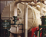Engine Room From Coast Guard Buoy Tender Oak