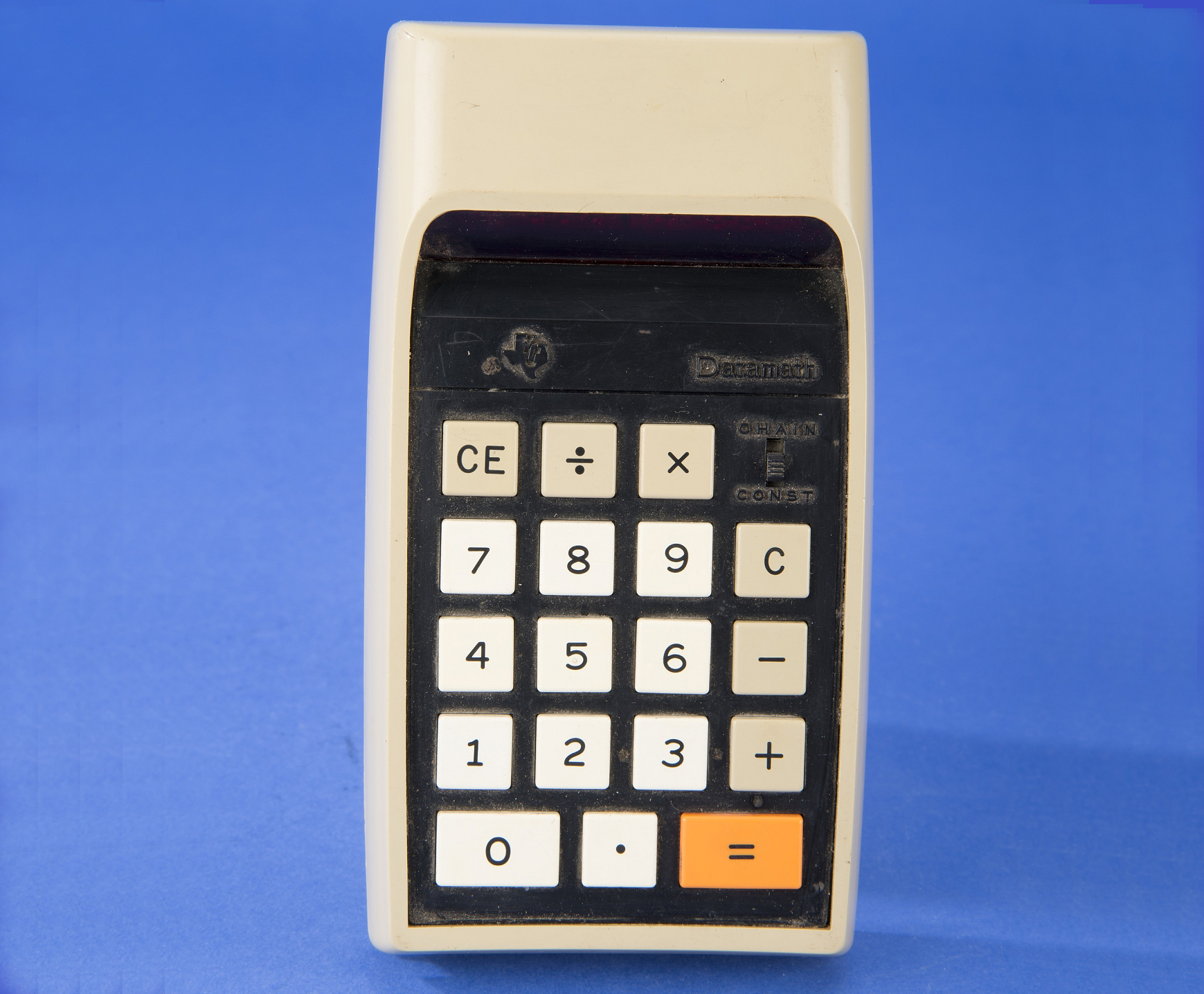 A collection of desktop electronic calculators in the Division of Medicine and Science at the National Museum of American Histor