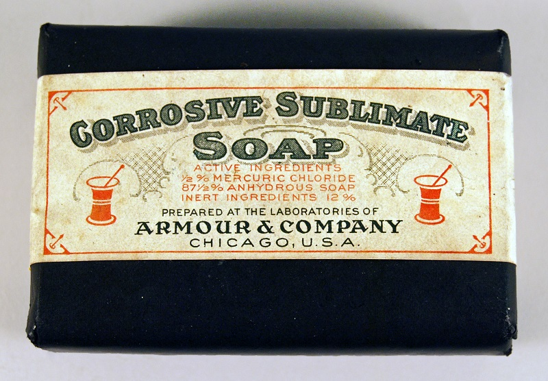 Corrosive Sublimate Soap containing mercuric chloride