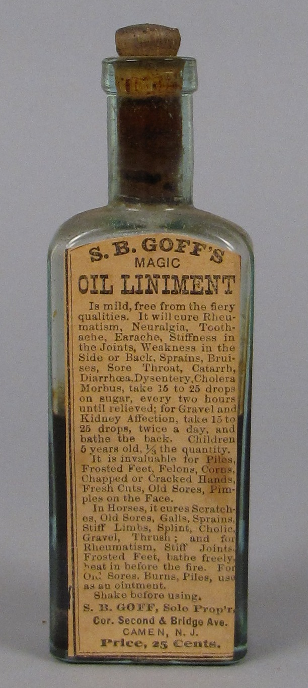 S.B. Goff's Magic Oil Liniment