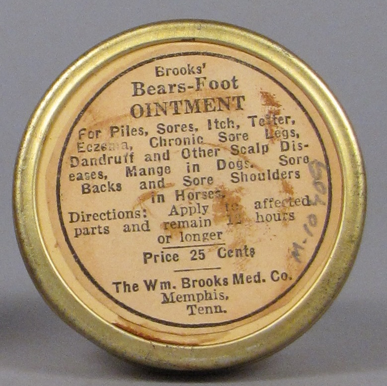 Brooks' Bears-Foot Ointment
