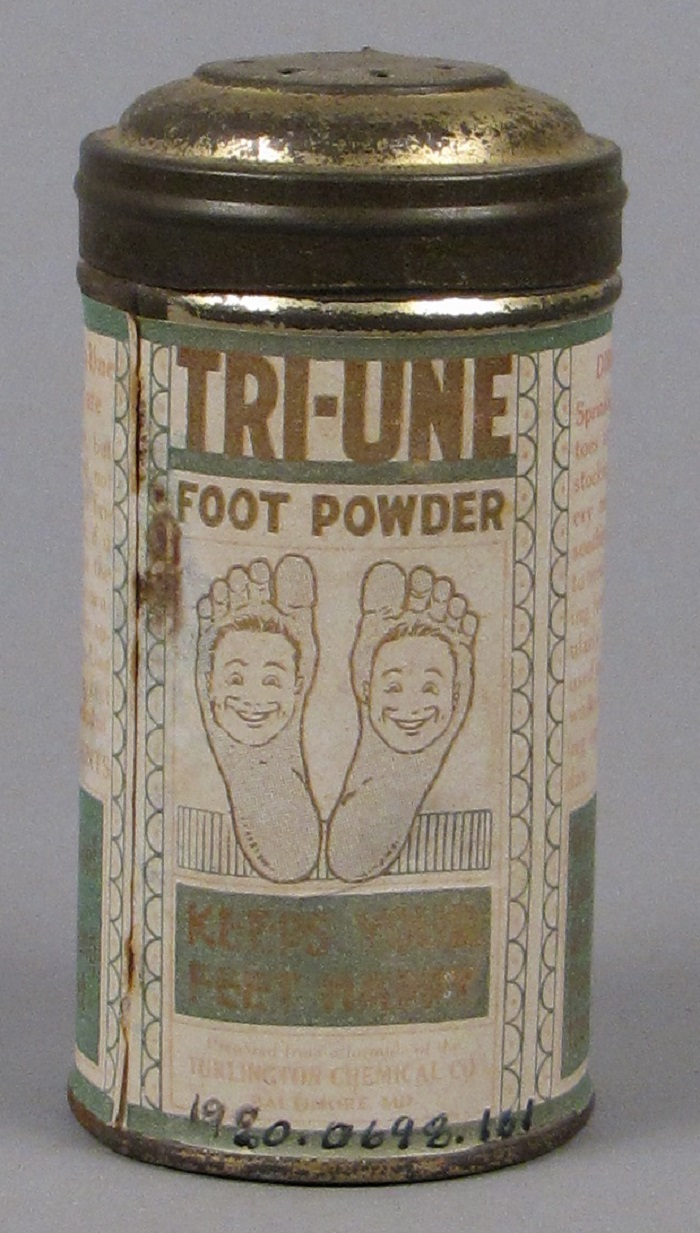 Tri-Une Foot Powder