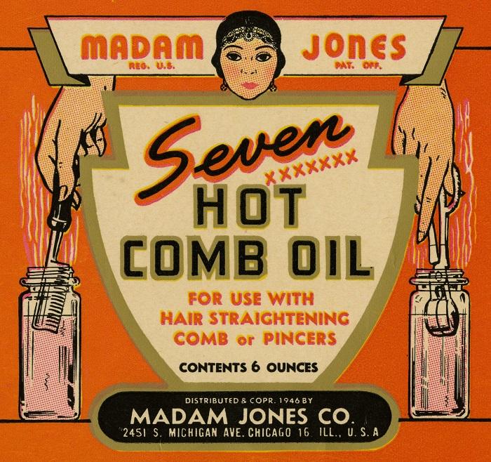 Madame Jones Seven Hot Comb Oil