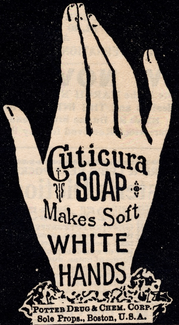 Cuticura Soap advertisement
