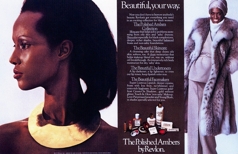 1977 Revlon advertising campaign for the