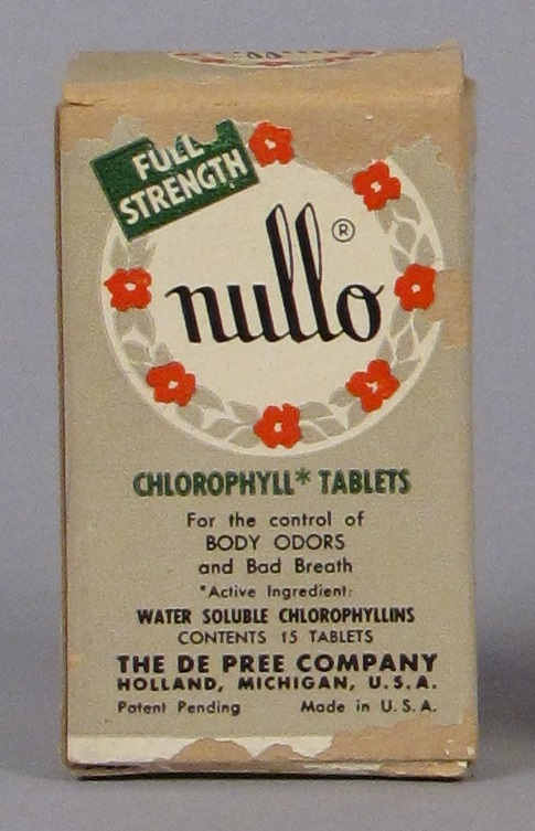 Nullo Chlorophyll Tablets