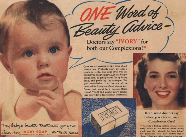 Ivory Soap advertisement from 1941