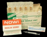 Insulin and insulin administering supplies