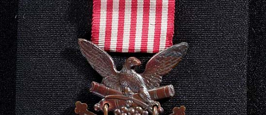 Frank Brownell's Medal of Honor