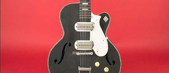 Jesse Fuller's Silvertone Guitar