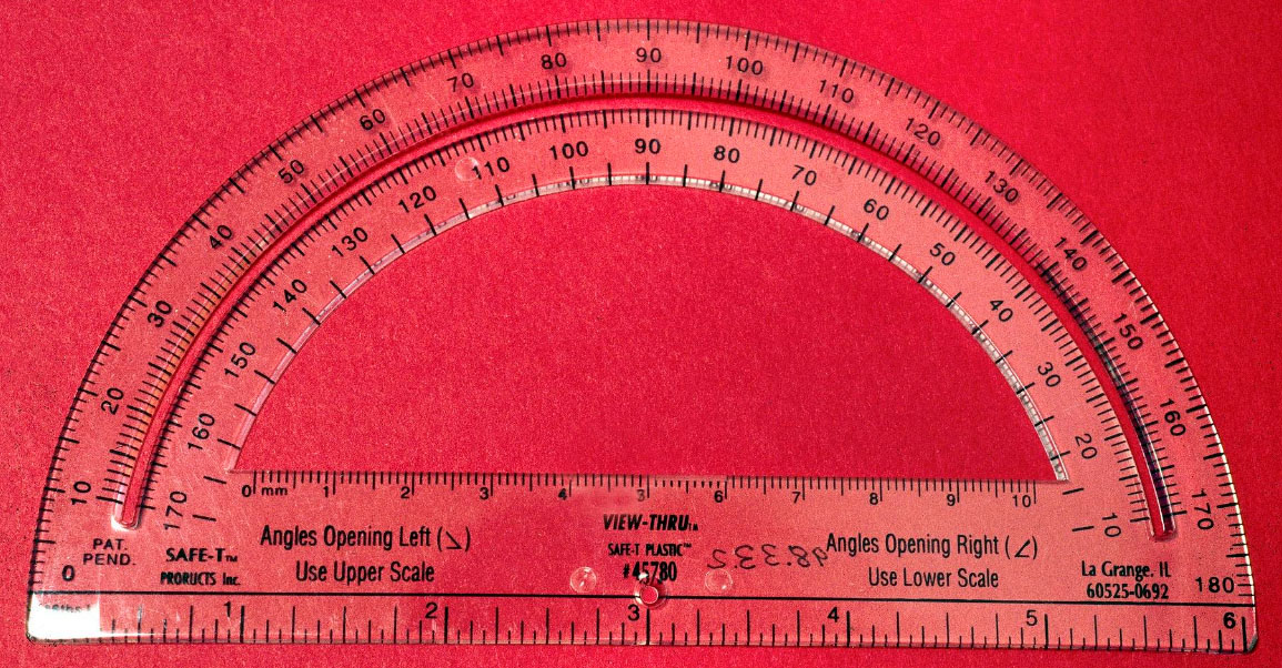 Image of a Safe-T Protractor