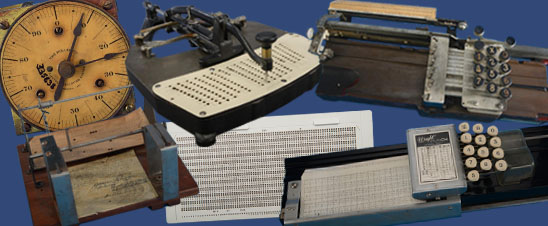 A collection of tabulating machines in the collections of mathematics, Division of Medicine and Science, National Museum of American History