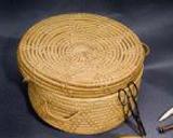 detail of Puerto Rican basket
