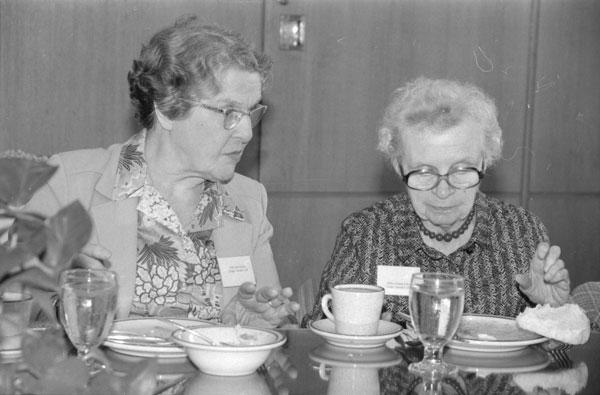 Image of Sisters Helen Sullivan and Leonarda Burke