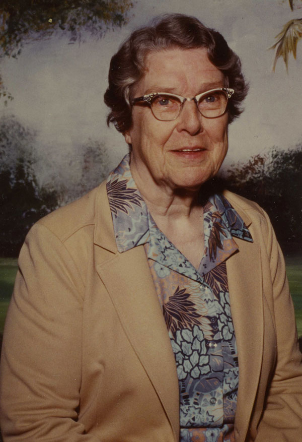Sister Helen Sullivan, August 1981. Gift of Sister Helen Sullivan