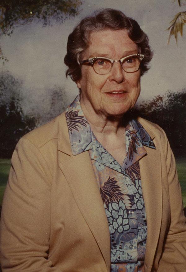 Sister Helen Sullivan, August 1981. Gift of Sister Helen Sullivan