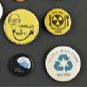 Environmental activism buttons