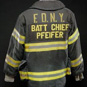 image of a firefighter's coat