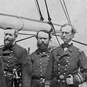 Image of Civil War naval officers.