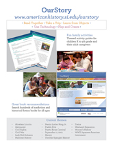 Printable OurStory flyer.