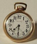 Watch, Railroad Model Pocket Watch