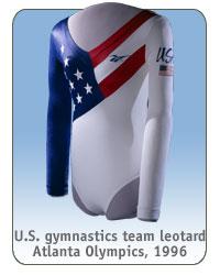 U.S. gymnastics team leotard, Atlanta Olympics, 1996