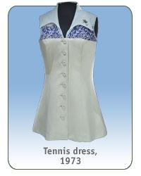Tennis dress, 1973