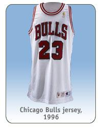 Chicago Bulls jersey, 1996