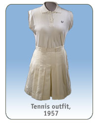 Tennis outfit, 1957