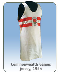 Commonwealth Games jersey, 1954