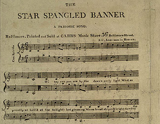 photo about Words to the Star Spangled Banner Printable named NMAH The Lyrics