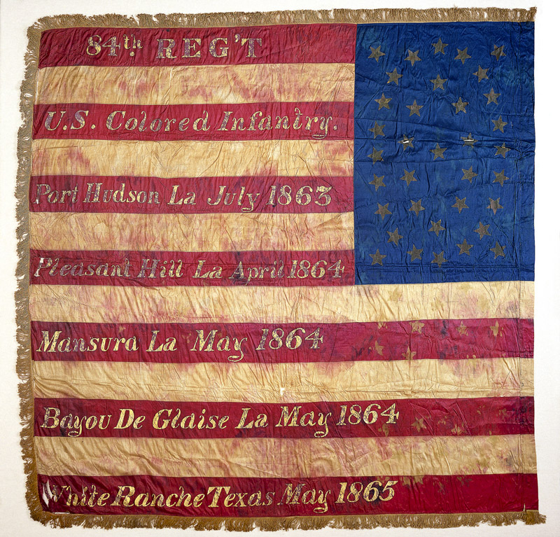 Nmah The Flag In The Civil War